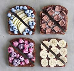 Cookies Et Biscuits, Food Inspiration, Cute Food, I Love Food, Yummy Food, Good Food, Yummy Yummy, Healthy Food Instagram, Fashion Hair