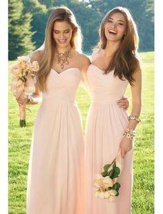 Liefje Chiffon Bruidsmeisjes jurken