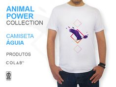 CAMISETA  Águia - Animal Power