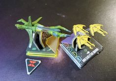 Star Trek Attack Wing Species 8472 Cardassian Fighter © Robert Aehnelt