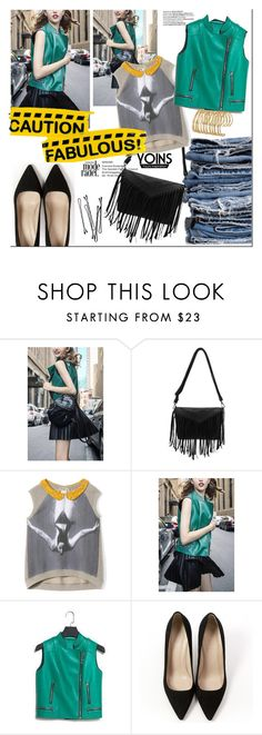 """""""Yoins"""" by nastya-d ❤ liked on Polyvore featuring Mode, Therapy, N°21, J.Crew und BOBBY"""