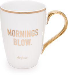 Drybar Mornings Blow Mug Cute Coffee Mugs, I Love Coffee, Tea Mugs, Coffee Cups, Coffee Coffee, Summer Pool Party, Coffee Is Life, Mug Shots, Ceramic Mugs