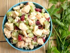 With a tangy, sweet dressing, crunchy celery, and sweet-tart dried cranberries, this Honey Mustard Chicken Salad is to die for! Step by step photos.