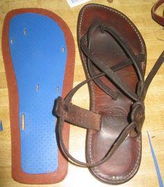 Island sandal tutorial