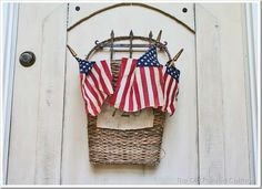 4TH of July door decor~