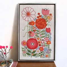 crewel embroidery