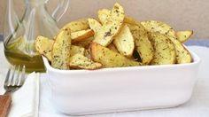 Patatas al horno con hierbas provenzales