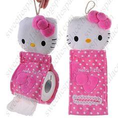 Moda bonito olá Kitty estilo suave Plush Hanging rolo wc suporte de papel cobrir o tecido para free shopping em Caixas de Lenço de Casa & jardim no AliExpress.com | Alibaba Group