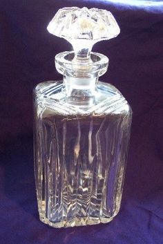 Square Lead Crystal Decanter 24%