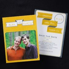 2-gether Save the Date - Male
