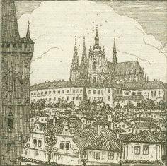 TAVÍK FRANTIŠEK ŠIMON (1877-1942)  Prague