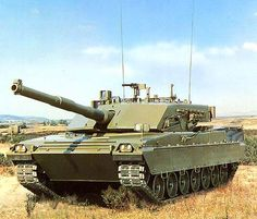 C1 Ariete Main Battle Tank, Italy  Oto Melara has carried out the development of the turret and weapons systems. The main gun is a 44-calibre 120mm auto-frettaged smooth bore gun.
