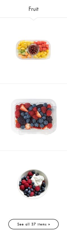 """Fruit"" by arcrosby99 ❤ liked on Polyvore featuring home, kitchen & dining, serveware, food, fillers, fruit tray, food and drink, food & drinks, backgrounds and circle"