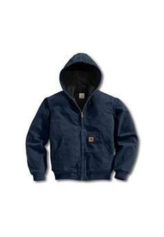 Carhartt Mens J25 Sandstone Thermal Lined Active Jacket - Midnight   Buy Now at camouflage.ca