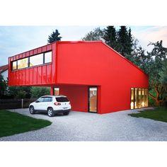 The House V designed by Jakob Bader