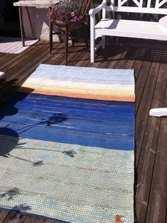 Blogg, Rag Rugs, Weaving, Ocean, Inspiration, Design, Home Decor, Homemade Home Decor, Biblical Inspiration
