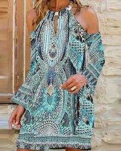 Casual Summer Dresses, Summer Dresses For Women, Dress Summer, Trend Fashion, Fashion Outfits, Boho Fashion, Plus Size Vintage Dresses, Vestido Casual, Elegant Dresses