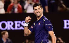 Novak Djokovic, F, 31 January 2016
