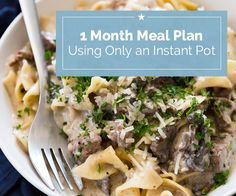 Instant Pot Meal Plan | Coupons.com