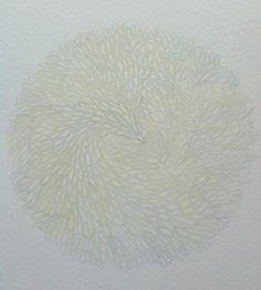 Day 54 watercolour circles 365 enso