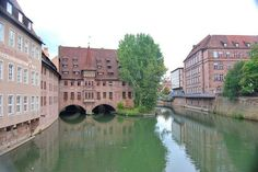 Nuremberg Building Over Water Our tips for 25 things to do in Germany: http://www.europealacarte.co.uk/blog/2011/11/21/what-to-do-in-germany/