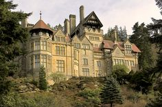 Cragside House, Rothbury, Northumberland by ~BLACK SWAN~, via Flickr