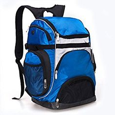 9f2ad94bccc0 Amazon.com   Luisvanita Large Capacity Portable Outdoor   Backpack Swimming  Mesh Sports Bag   Sports   Outdoors