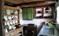 Lovely Welsh cottage interior.