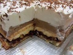 Salty Snacks, Yummy Snacks, Yummy Food, Hungarian Desserts, Hungarian Recipes, Fun Desserts, Dessert Recipes, Sweet Tarts, Winter Food