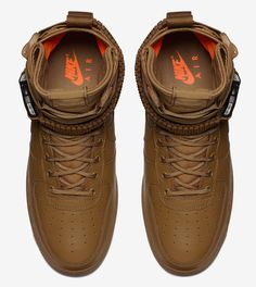 Nike SF AF1  Desert Ochre Total Orange  - EU Kicks  Sneaker Magazine 873c9e4b0