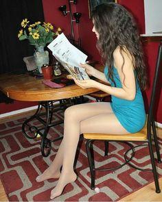gorgeous pantyhose photos : Photo