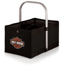 Picnic Time Harley-Davidson Collapsible Folding Picnic Basket $35.99