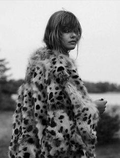 Glamour France October 2014 | Frida Gustavsson by Stefan Heinrichs