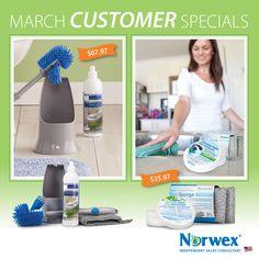 Norwex USA March Customer Specials