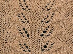 Ravelry: Autumn leaves lace pattern by KnitHit.com