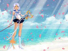 Sailor Aquarius by YaBoiUsagi on DeviantArt Doll Divine, Aquarius, Sailor, Princess Zelda, Deviantart, Dolls, Fictional Characters, Goldfish Bowl, Baby Dolls
