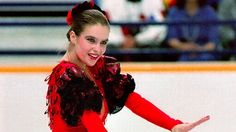 Katarina Witt - met her when I was in my early 20s and was working in a record store. She bought a stack of CDs. Had no idea who she was until I looked at her credit card! I had been chatting up a storm prior to that! LOL. Tiny gal.