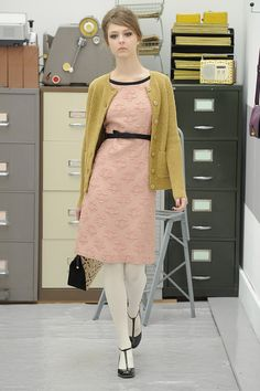 Love everything about this outfit and color combinations orla kiely | A/W 2013