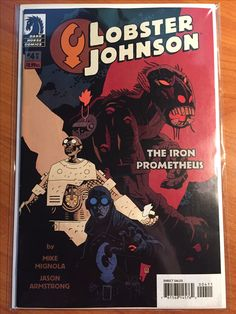 Lobster Johnson The Iron Prometheus #4 - December 2007 - Dark Horse