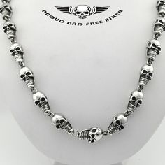 Skulls Necklace - Men
