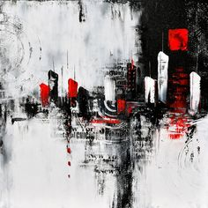 Gran pintura abstracta pintura moderna pintura original de