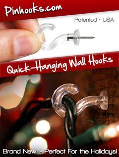 best hooks for christmas lights