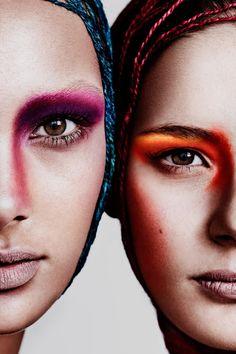 """SOFT GLOW'  Photographer: @jimmy_says_namaste Make-up artist: @catartistry Models: Moa-Lisa A & Sofi A @mikasstockholm Photographer's Assistant: Miriam Ventura #webitorials #papercutmag"