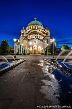 St Sava, Belgrade, Serbia