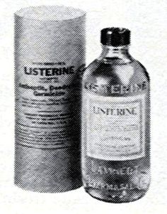 Remember when Listerine came with a paper wrapper around it??