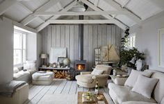 Whether you are looking for a luxury coastal cottage in Cornwall or a beach house in Scotland, find your perfect luxury self-catering seaside cottage here. Cottage Style Decor, Beach Cottage Style, Beach Cottage Decor, Coastal Cottage, Coastal Decor, Lake Cottage, Cottage Design, Farmhouse Design, Cottage Living Rooms
