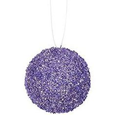 Felices Pascuas Collection Lavender Purple Sequin and Glitter Drenched Christmas Ball Ornaments inch Purple Christmas Ornaments, Country Christmas Decorations, Farmhouse Christmas Decor, Modern Christmas, Christmas Balls, Coastal Christmas, Silver Christmas, Xmas Tree, Christmas Trees