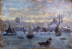 Nazmi Ziya Güran(1881ー1937 Turkish painter)