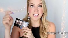 The best make up tutorial for the Maybelline The Nudes Pallet. You definitely need to pin this!