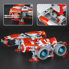 LEPIN Star War The Je Classical di Defender Cruiser Building Blocks Toys - Blocks